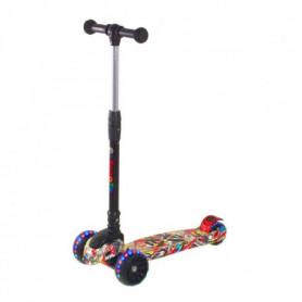 CDTS  Trottinette Fat Wheels 3 roues - Pliable