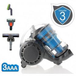 EZIclean Turbo Multifloors, Aspirateur sans sac multi-cyclon