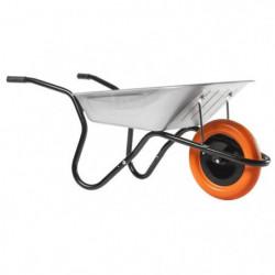 HAEMMERLIN Brouette Bibox Smart - Caisse galvanisée 90 L