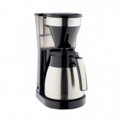 MELITTA Easy Top Therm Inox II 1023-10 - Cafetiere filtre 1L