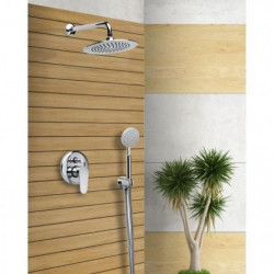 SARODIS Colonne de douche avec robinet mitigeur mécanique