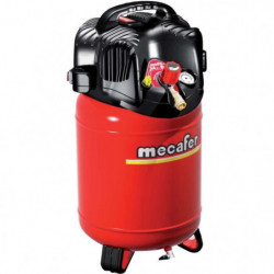 MECAFER Compresseur d'air vertical 24L 1,5HP Twenty