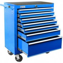 DEF'PRO Servante d'atelier 7 tiroirs vide en métal
