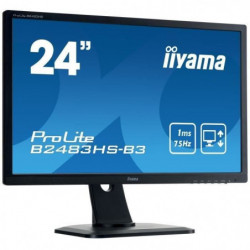 """IIYAMA Ecran 24"""" - Full HD - LED - 1 ms - 75Hz - VGA/DP/HDMI"""