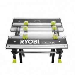 RYOBI Etabli RWB03 pliable, réglable et pivotant avec 100 kg