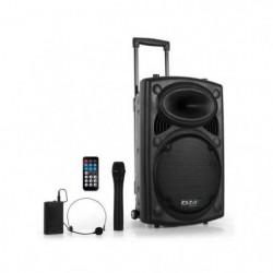 IBIZA PORT12VHF-BT Systeme de sonorisation portable autonome
