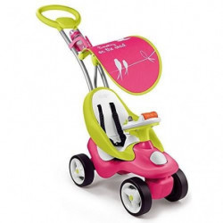 SMOBY Porteur Evolutif 2 en 1 Bubble Go Rose