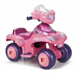 FEBER - Quad Minnie Rose - Véhicule Electrique pour Enfant