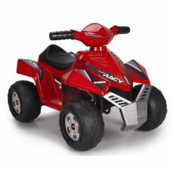 FEBER - Quad Racy Rouge - Véhicule Electrique pour Enfant
