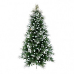 Sapin de Noël artificiel Luxe semi-floqué - PVC