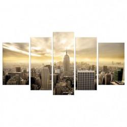 CITY Tableau Multi Panneaux  110x60cm