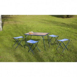 EREDU Set Table camping avec Tabourets 541/Tx - 95x60 cm