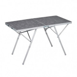 TRIGANO Table valise Premium - Gris