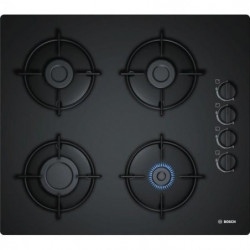 BOSCH POP6B6B10 Table de cuisson gaz - 4 foyers - 7400W