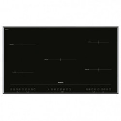 SHARP KH-9I26CT00 - Table de cuisson a induction - 5 zones