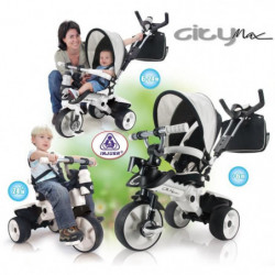 INJUSA Tricycle enfant évolutif City Max
