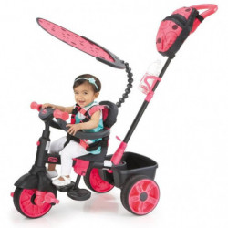 LITTLE TIKES Tricycle Evolutif 4 en 1 Deluxe Edition Neon