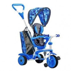 STROLLY - Tricycle Evolutif Strolly Spin - Bleu