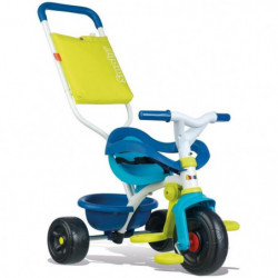 SMOBY Tricycle Enfant Evolutif Be Fun Confort Bleu