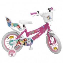 """Vélo 14"""" Princesse - Fille - Rose"""