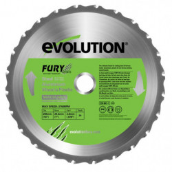 EVOLUTION Lame multi-usages FURY 255mm