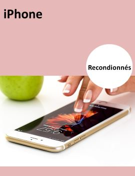 Bannière iPhone reconditionné
